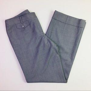 Ann Taylor Lindsay Fit Gray Career Pants
